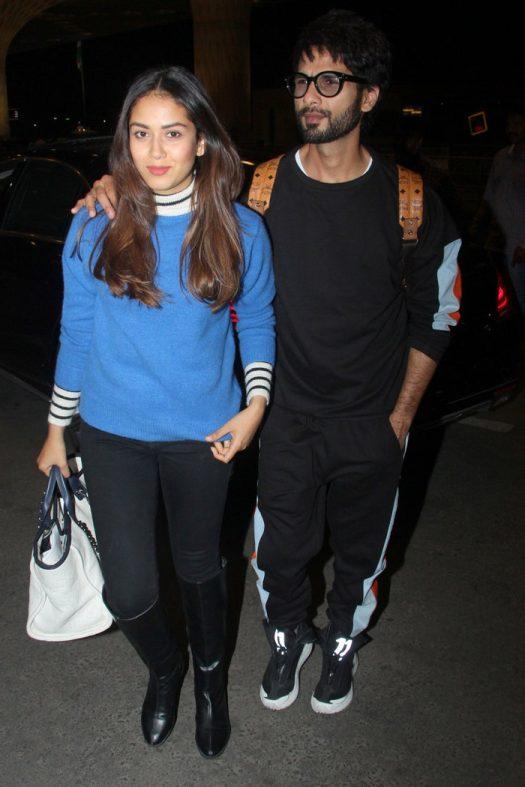 Mira Rajput Kapoor and Shahid Kapoor 12