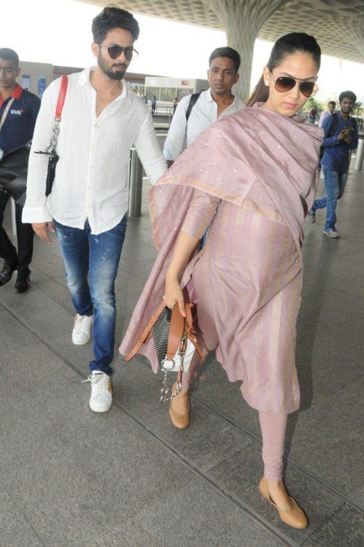 Mira Rajput Kapoor and Shahid Kapoor 13