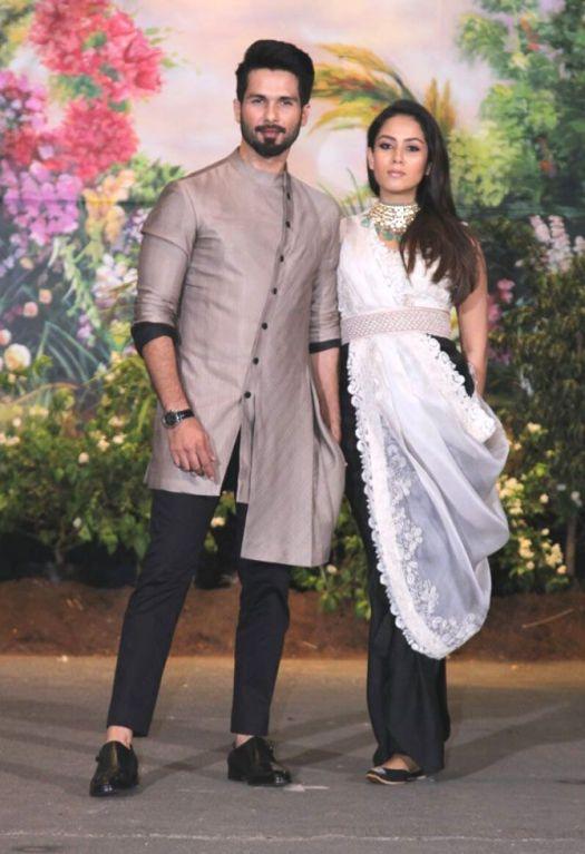 Mira Rajput Kapoor and Shahid Kapoor 2
