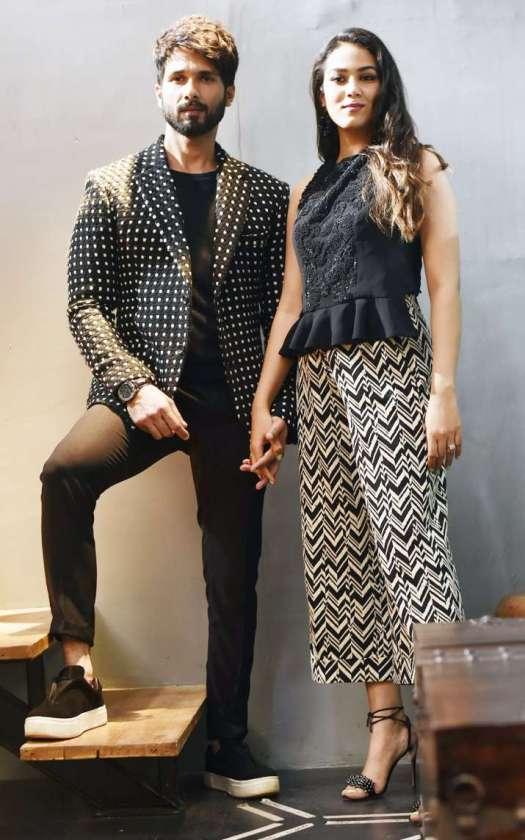 Mira Rajput Kapoor and Shahid Kapoor 4
