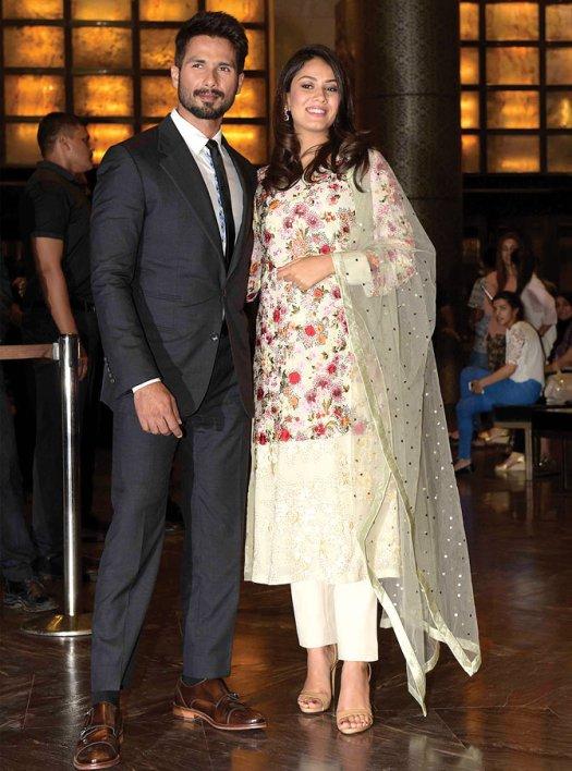 Mira Rajput Kapoor and Shahid Kapoor 7