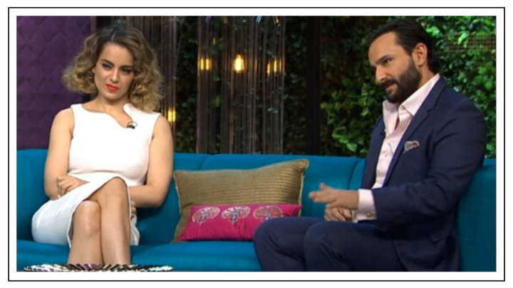 Saif Ali Khan: I have no idea what Kangana was saying on Koffee with Karan