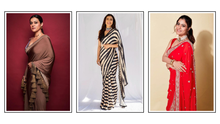 10 sarees from Kajol's wardrobe that we want to steal