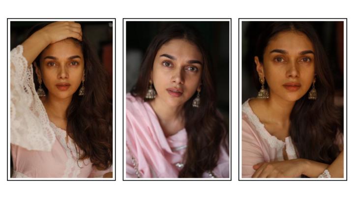 Aditi Rao Hydari wore a pastel pink kurta for a day ofcomfort