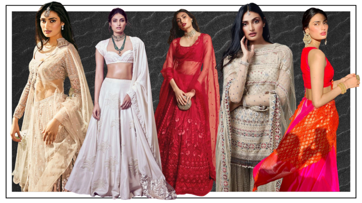 Decoding Athiya Shetty's wedding wardrobe for your wedding festivities