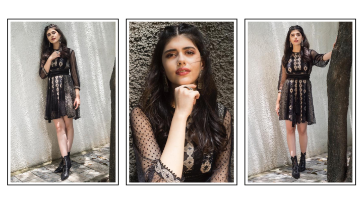 Sanjana Sanghi channels bohemian vibes in this Ritu Kumar dress