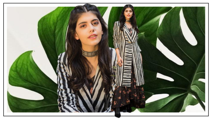 Sanjana Sanghi's latest outing is a lesson in mixing prints