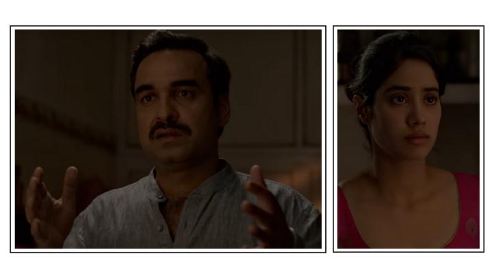 The father-daughter scene in Gunjan Saxena: The KargilGirl