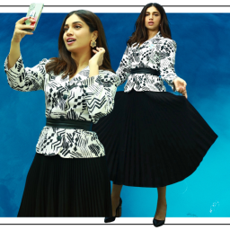 Take upcycling tips from Bhumi Pednekar's latest outing