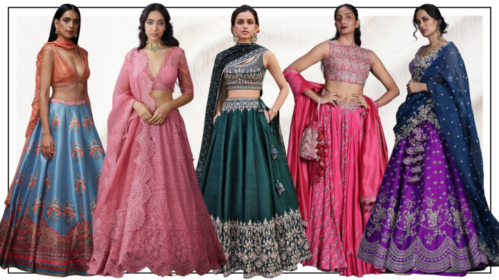 10 lehengas to pick from for your best friend's destinationwedding