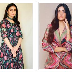 Learn How to Wear Prints From Rasika Dugal and Tanya Maniktala