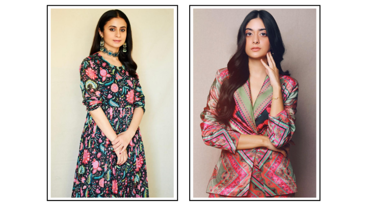 Learn How to Wear Prints From Rasika Dugal and Tanya Maniktala