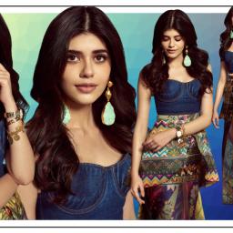 Sanjana Sanghi's printed skirt will lift your wardrobe