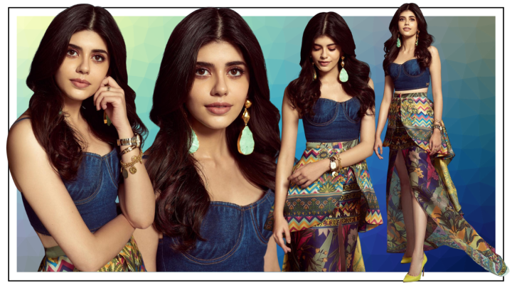 Sanjana Sanghi's printed skirt will lift your wardrobe