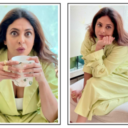 Shefali Shah's Lemon Co-ord Set Is The Perfect WFH Outfit